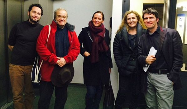 Eric Chaverou, Jean-Noël Cuénod, Marianne Meunier, Isabelle Veyrat-Masson, Jean-Marc Four