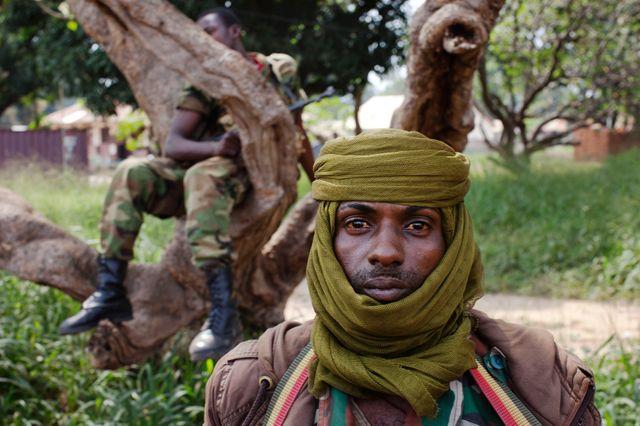 Un ancien soldat du Seleka