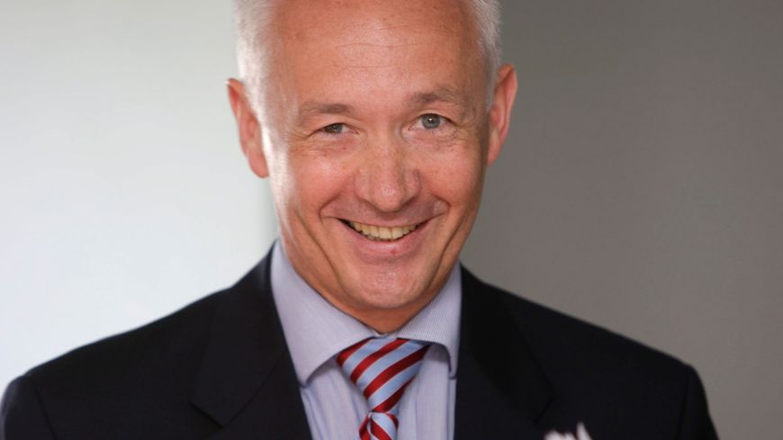 Le recteur de l'académie de Reims : Philippe-Pierre Cabourdin.