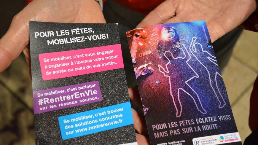 Campagne de la Prévention Routière pour les fêtes de fin d'année 2013