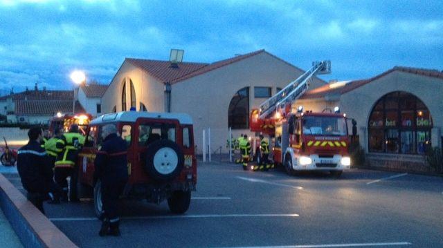L'incendie a mobilisé 30 pompiers à Canohés -