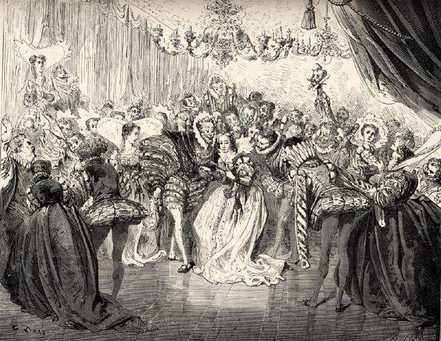 Cendrillon - gravure de Gustave Doré - 1867