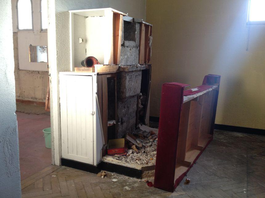L'église était désaffectée depuis juillet 2011.