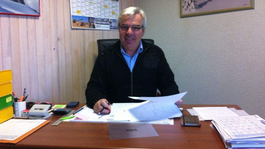 Régis Marceau, chef d'entreprises et Maire de Doubs