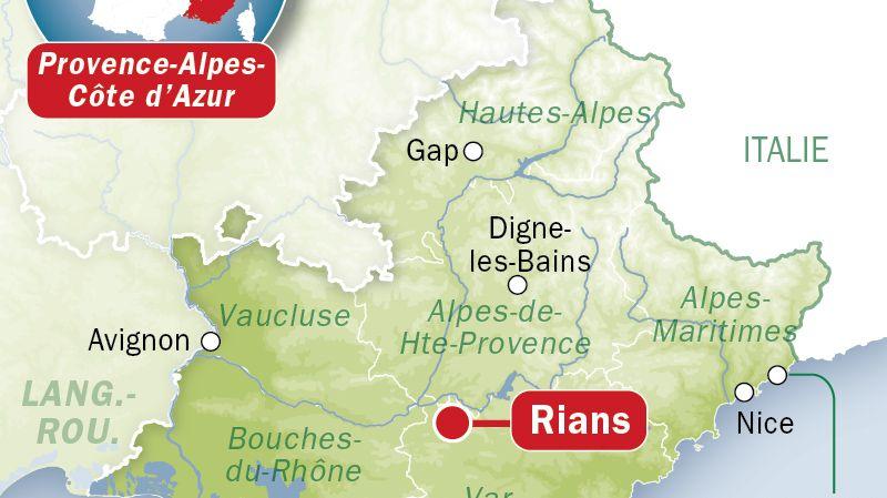Trois jeunes morts intoxiqués à Rians, dans le Var