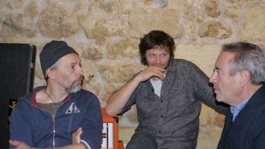 Pascal Humbert, Bertrand Cantat et José Ruiz