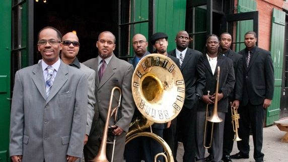 Jazz Trotter : Rebirth Brass Band