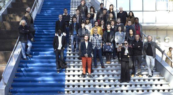 Elisabeth, Yasmina et leur camarades artistes-étudiants de la promo 2012-2014