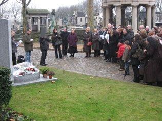 Mémorial aux victimes de Charm El-Cheikh au cimetière du Père Lachaise