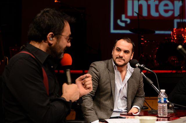 Frédéric Lopez et François-Xavier Demaison