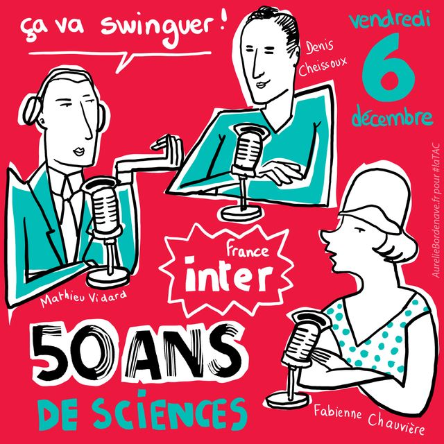 50 ans de science sur France Inter