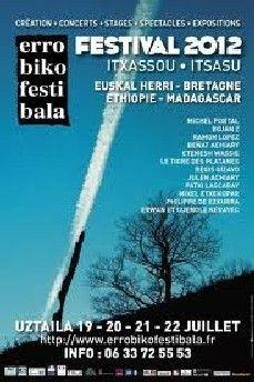 PAYS BASQUE Festival d'Itxassou 2012 Reportage réalisé du 19 au 22 juillet 2012