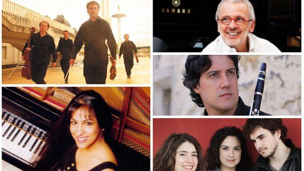 Frédéric Lodéon reçoit le Trio Karénine, Patrick Messina, le Quatuor Debussy, Bruno Fontaine et Shani Diluka