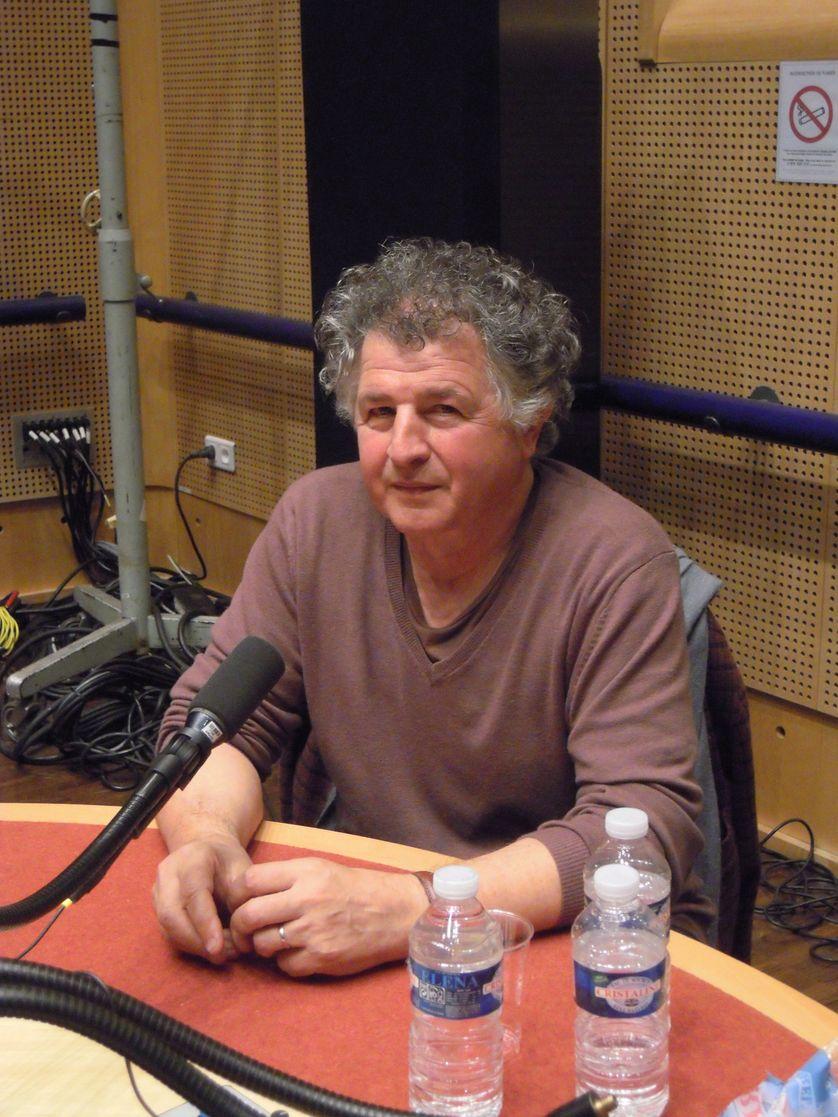 Ivan Messac au studio 117 de la Maison de la Radio