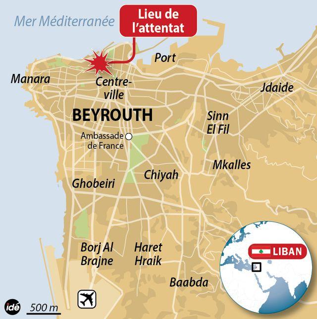 Un attentat à la voiture piégée à Beyrouth
