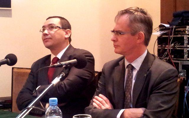 Victor Ponta et Jérôme Olive