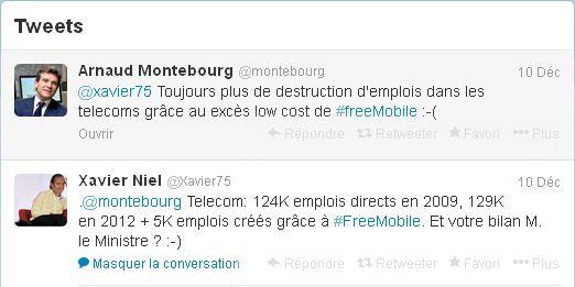 Tweet Montebourg Niel