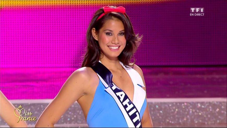 Mehiata Riaria, Miss Tahiti, a été élue 1ère dauphine de Miss France