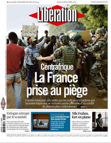 Couverture de Libération - 26.12.2013