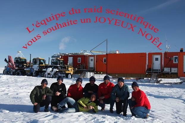 Noël en Antarctique