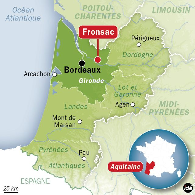 Accident d'hélicoptère en Gironde