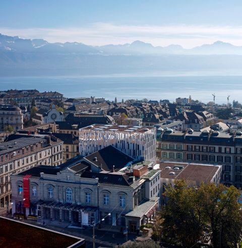 A l'Opéra de Lausanne