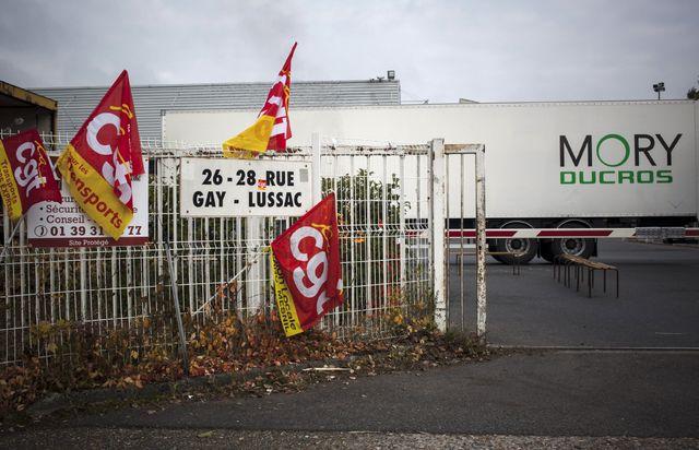 L'entreprise Mory Ducros a été placée en redressement, fin 2013