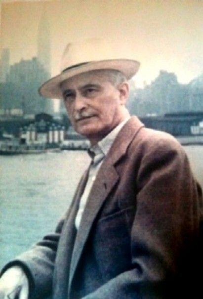 Hommage à Jacques Ibert ( 1890-1962 ) compositeur françaisAvec sa petite fille Véronique Ibert-Péréal