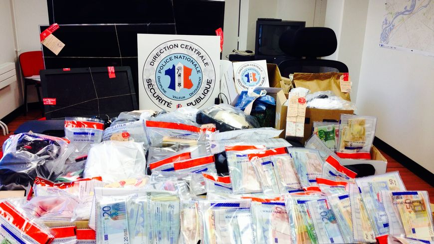 Saisie police : trafic d'héroïne et de cocaïne démantelé à Metz Sablon janvier 2013
