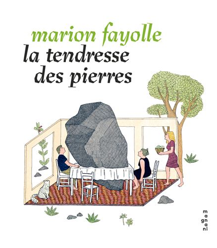 "Couverture de ""La tendrese des pierres"""
