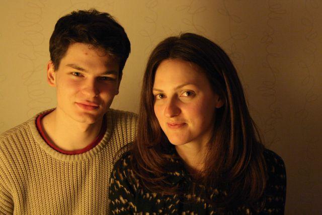 Anastasiya, jeune Russe de Riga et son copain Alexis