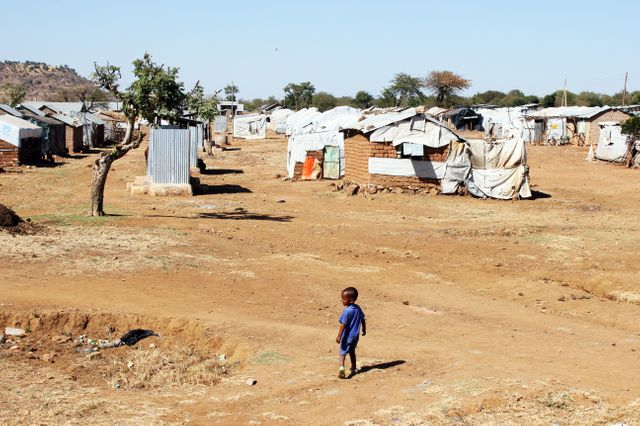 Camp de réfugiés d'Adi Arush, en Ethiopie