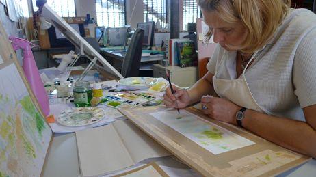 """Dans les coulisses du film """"Tante Hilda"""" : les studios Folimage à Bourg-les-Valence."""
