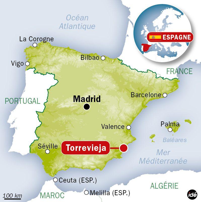 Carte Espagne Hd.Les Vacances En Espagne D Un Couple Virent Au Cauchemar