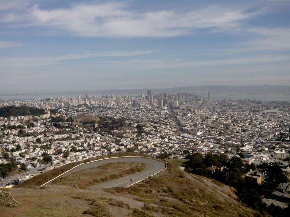 San Francisco, depuis Twin Peaks