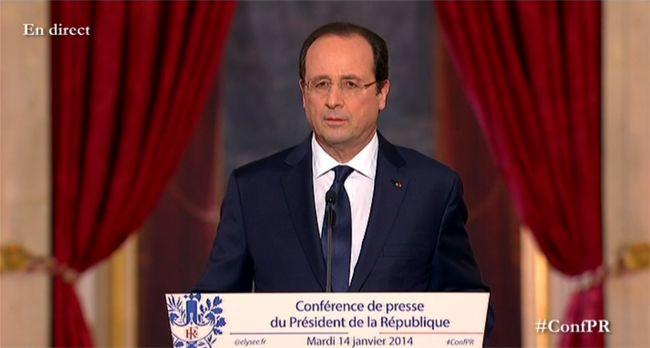 François Hollande - Conférence de presse