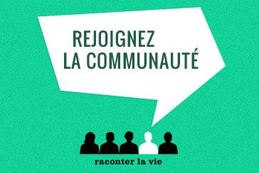 raconter la vie, le site