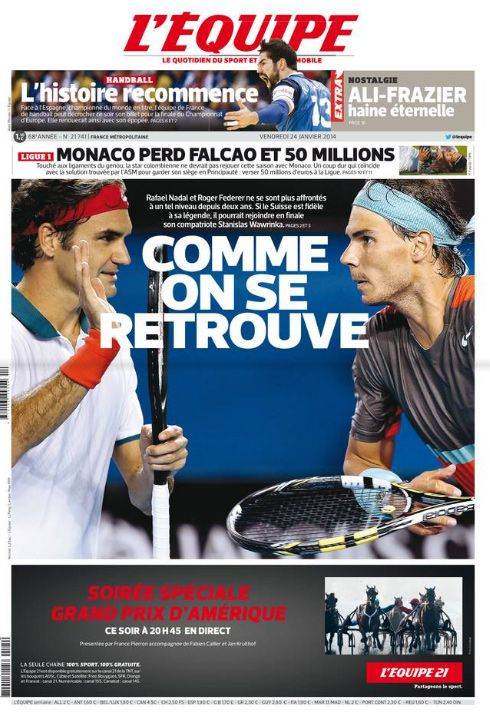L'Équipe - 24.01.2014