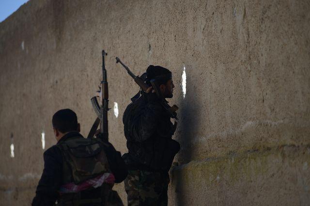 Des combattants de l'Armée syrienne libre