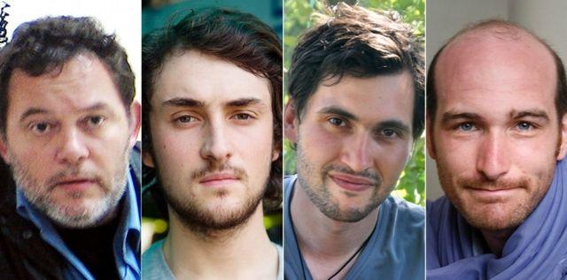 Les journalistes otages en Syrie