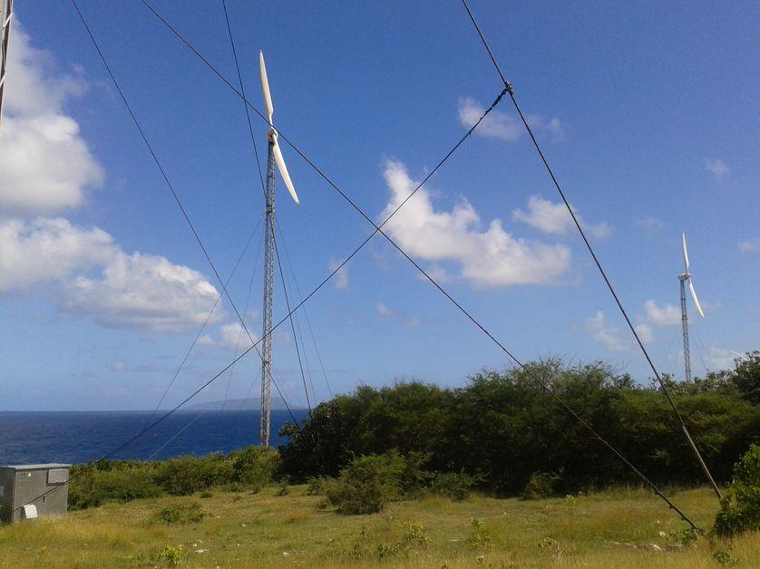 Eoliennes en Guadeloupe