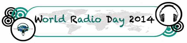 World Radio Day 2014 logo