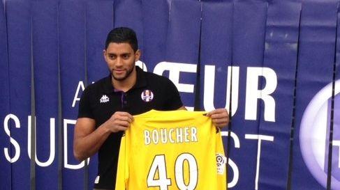Zacharie Boucher, gardien de but du Toulouse FC
