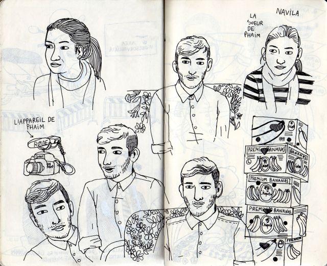 Phaim chez lui -  les dessins d'Amélie Fontaine