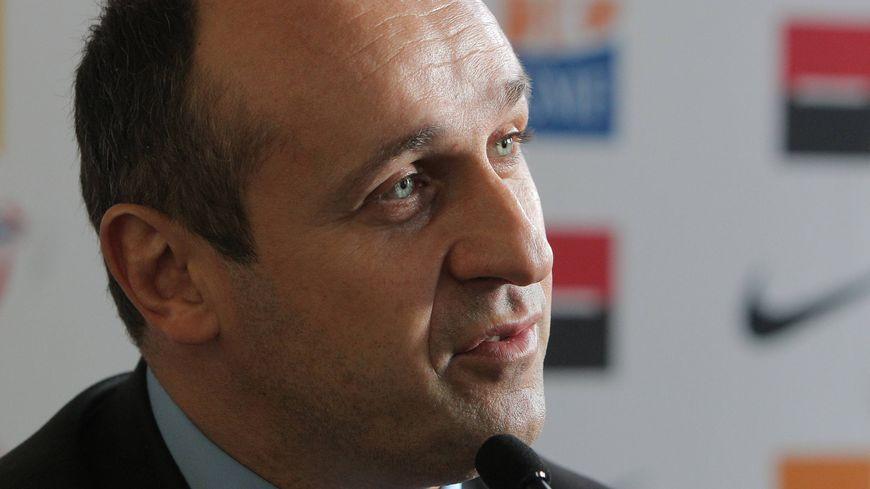 Philippe Saint-André, le manager du XV de France