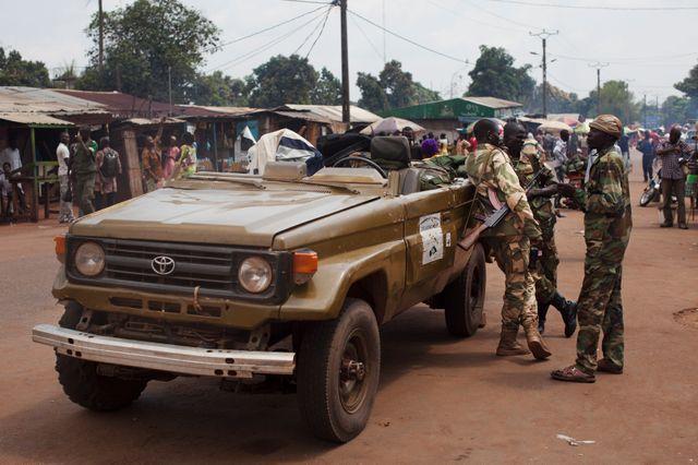 A Boali en Centrafrique
