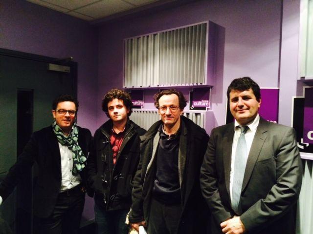 François Ducroux, Adrien Sénécat, Denis Demonpion, Fabrice Lorvo