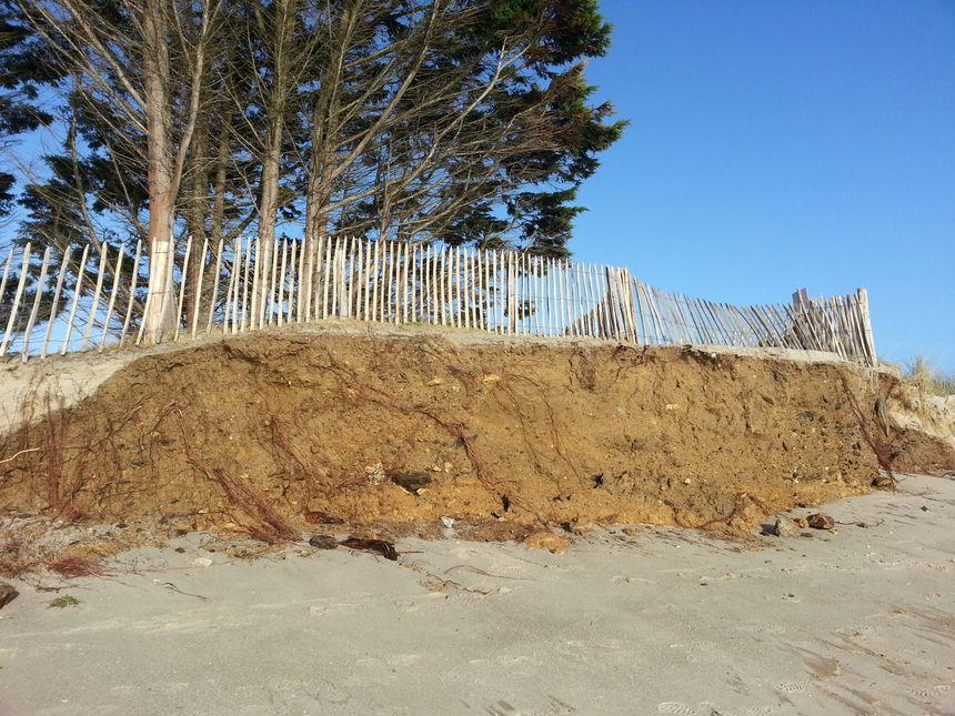 La dune du Treustel à Combrit