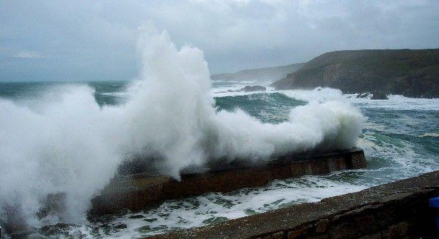 Tempête à Port-Loubous
