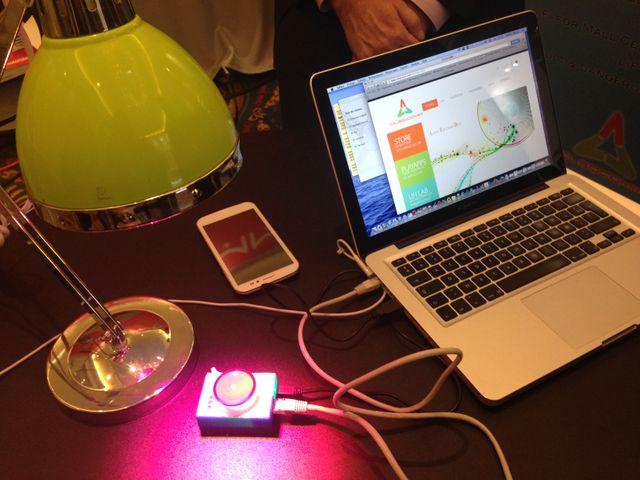 SunPartner présente le premier téléphone LiFi